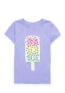 Girls 4-10 Graphic Tee