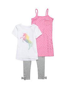 Girls 4-10 Cami Dress Set