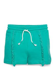 Lightning Bug Girls 4-8 Ruffle Front Shorts