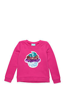 Girls 4-10 Long Sleeve Pullover