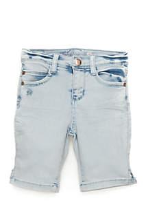 Girls 4-6x Super Soft Denim Bermuda Shorts