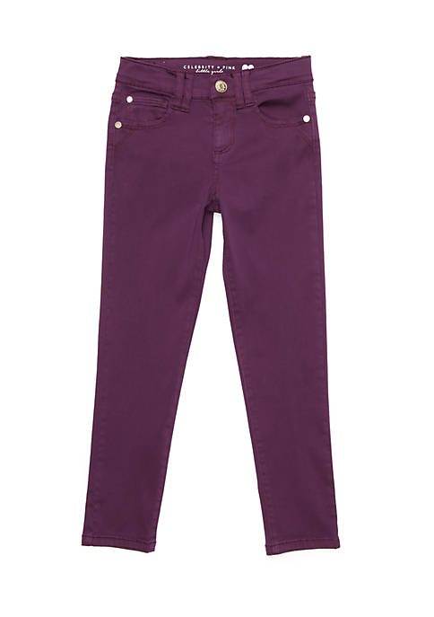 Celebrity Pink Super Soft Twill Pants Girls, 4-6x