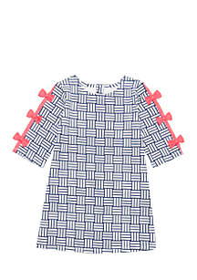 Girls 4-8 Short Sleeve A-Line Dress