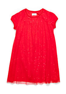 Toddler Girls Tulle A-Line Dress