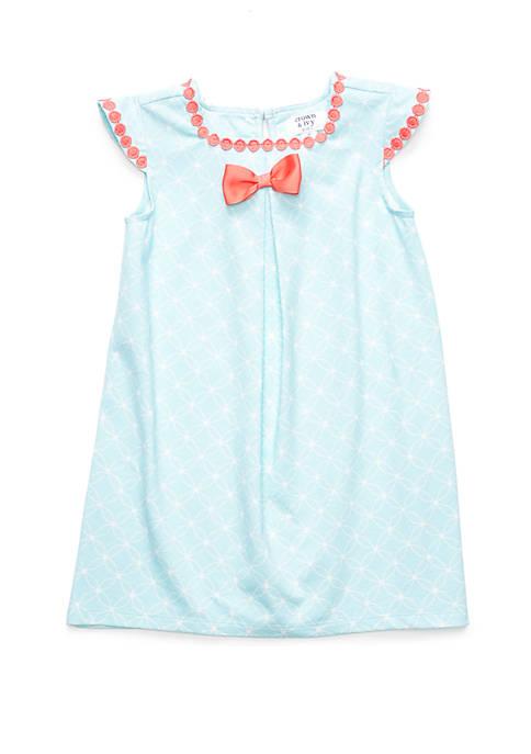 Crown & Ivy™ Girls 4-6x Knit A Line