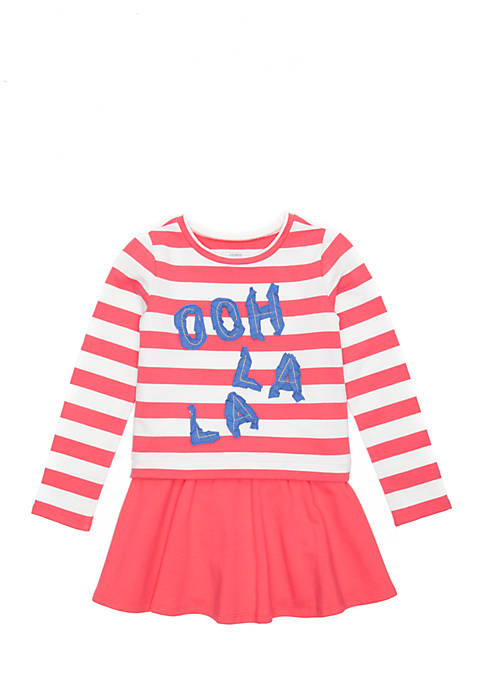Crown & Ivy™ Toddler Girls 2-Piece Skirt Set