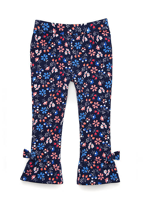 Crown & Ivy™ Toddler Girls Ruffle Hem Pants