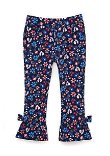 Toddler Girls Ruffle Hem Pants