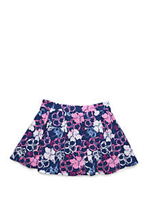 Crown & Ivy™ Girls 4-6x Pleated Knit Skirt
