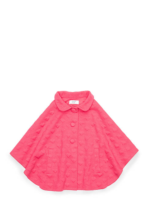 Crown & Ivy™ Girls 4-8 Poncho Jacket