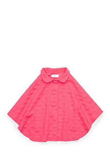 Girls 4-8 Poncho Jacket