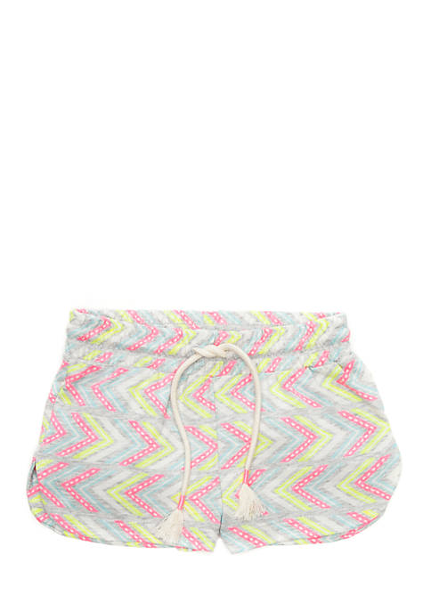 Lightning Bug Toddler Girls 4-6x Knit Shorts