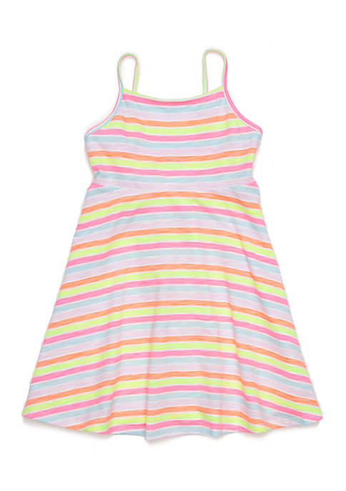 Lightning Bug Girls 4-10 Skater Dress