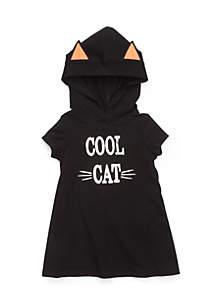Girls 4-8 Halloween Hood Dress