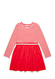 Toddler Girls Long Sleeve Dress