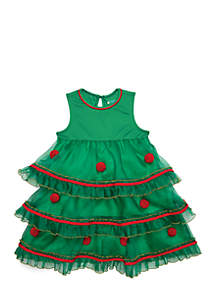Girls 4-10 Tree Dress