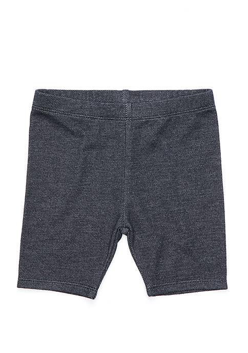 Girls 4-8 Denim Bike Shorts