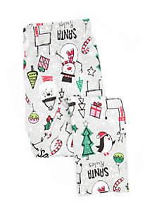 Toddler Girls Printed Leggings
