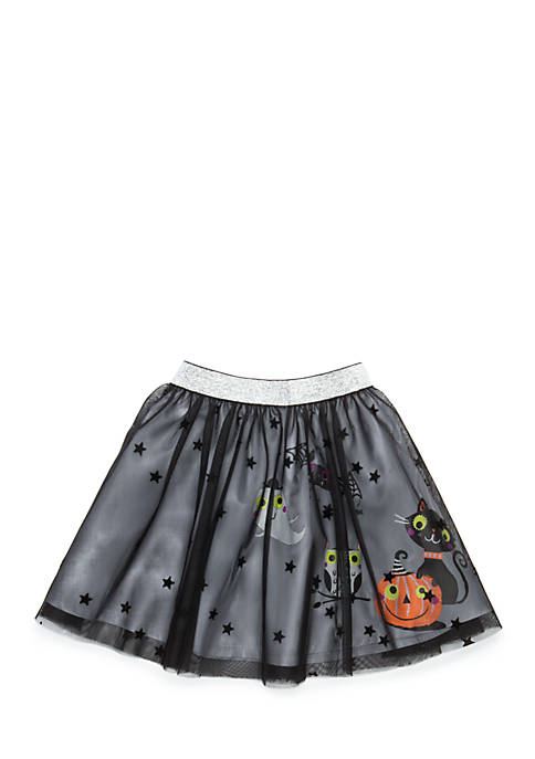 Lightning Bug Toddler Girls 4-6x Halloween Tutu Skirt