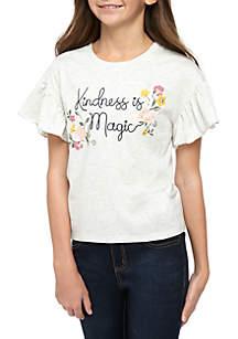 TRUE CRAFT Girls 7-16 Kindness Is Magic T Shirt