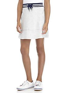 Girls 7-16 French Terry Mini Skirt