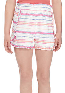 1c3067239 Wonderly Girls 7-16 Ruffle Soft Shorts