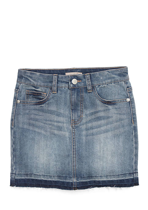 Wonderly Girls 7-16 Denim Jean Skirt