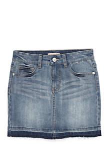 Girls 7-16 Denim Jean Skirt