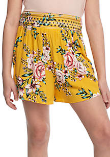 Embroidered Shorts Girls 7-16