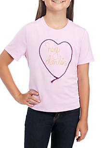 Girls 7-16 Short Sleeve Tee