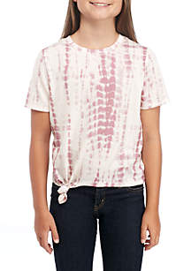 Girls 7-16 Short Sleeve Tie Dye Core Tee