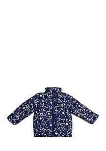 Girls 4-10 Puffer Jacket