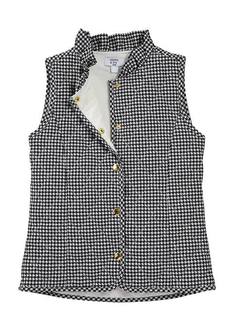 Crown & Ivy™ Girls 7-16 Quilted Vest