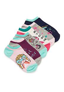 Toddler Girls Super Hero Socks