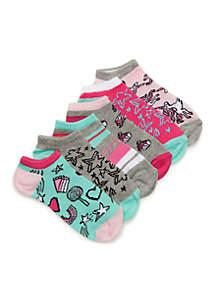 Toddler Girls Unicorn Theme Sock Set