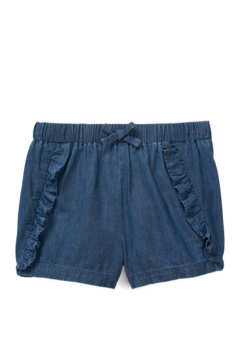 Lightning Bug Girls 4-10 Ruffle Front Shorts