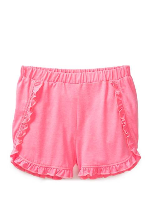 Lightning Bug Girls 4-6x Fashion Ruffle Shorts