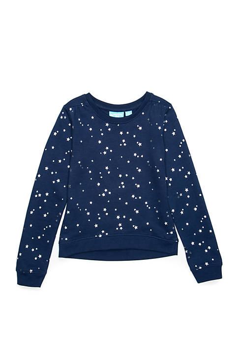 Lightning Bug Girls 4-10 Long Sleeve Sweater