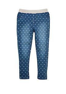 Crown & Ivy™ Girls 4-6x Denim Pants