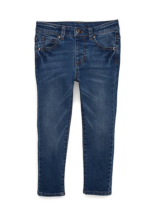 TRUE CRAFT Girls 4-8 Basic Skinny Denim Pants
