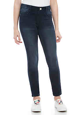 c188696f4c102 Crown & Ivy™ Girls 7-16 Air Paloma 5 Pocket Knit Pull On Jeggings ...