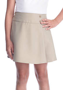 Girls 7-16 Big Pleated Scooter Skirt