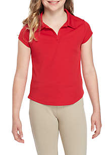 Uniform Short Sleeve Active Polo Girls 7-16