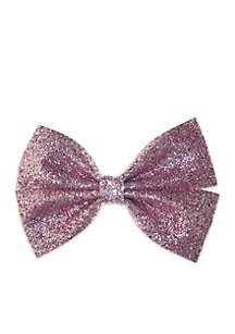 Girls Glitter Bow
