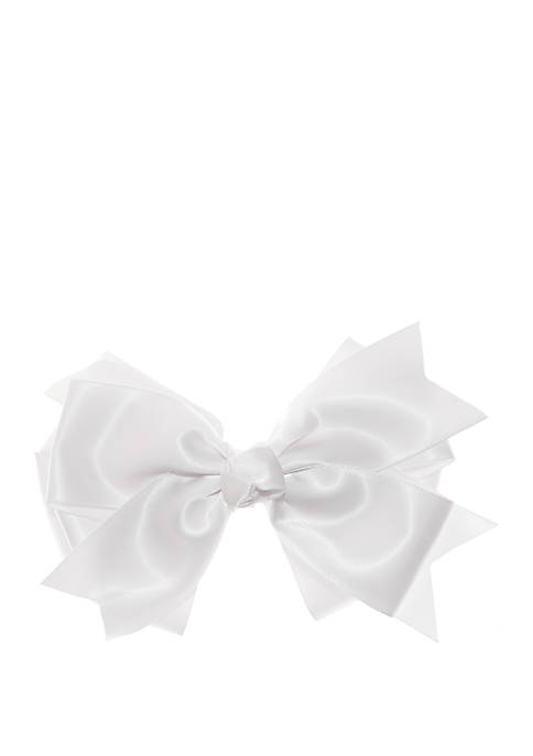 Crown & Ivy™ Girls 4-16 Fancy Gingham Bow