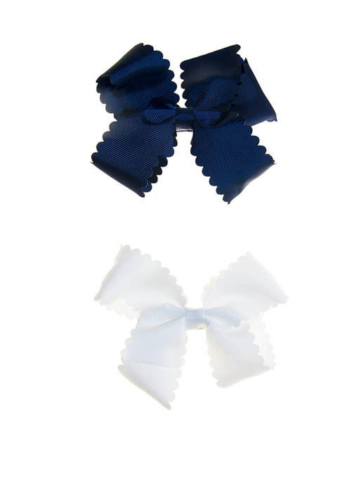 Crown & Ivy™ Girls Set of 2 Bows