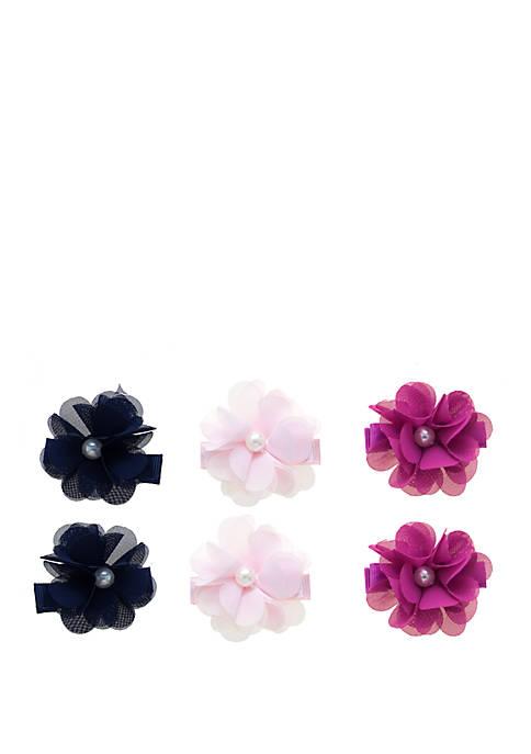 Crown & Ivy™ Toddler Girls Pearl Flower Clip