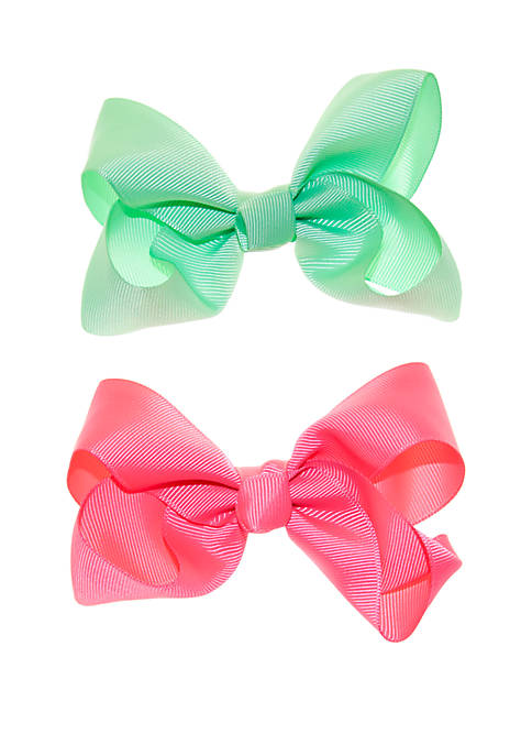 Lightning Bug Girls Bow Set