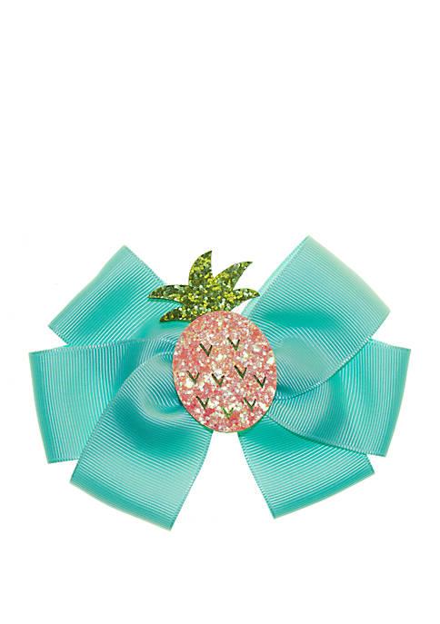 Girls Pineapple Bow