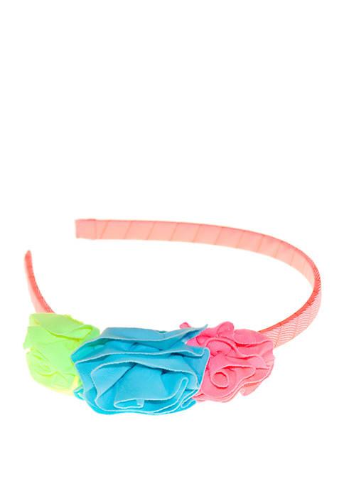 Girls Flower Headband